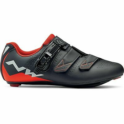 Road Cycling Shoes Black/Red UK STOCK