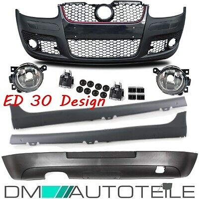 VW Golf 5 MK5 Bodykit Front Bumper Side Skirts Rear suitable GTI Edition 30+TÜV