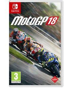 MOTO-GP-18-NINTENDO-SWITCH-VIDEOGIOCO-ITALIANO-GIOCO-MOTOGP-CORSE-PAL-NUOVO