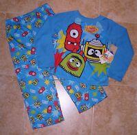 Yo Gabba Gabba 2pc L/s Shirt Long Pants Pajamas Pjs 4t