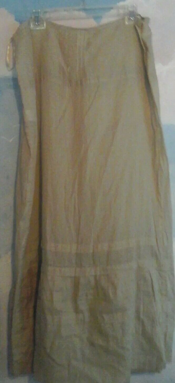 DKNY Skirt In 100% Cotton Voile In Light Tan, 12