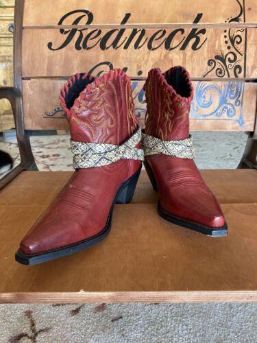 Laredo Ladies Cowboy Boots Size 7