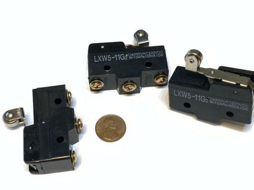 3 Pieces Roller Z-15GW22-B large Limit Switch rollar Long Lever Arm SPDT A19