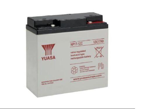 Batterie jouet yuasa NP17-12FR 12V 17ah  181x76x167mm FLAMME RETARDANT