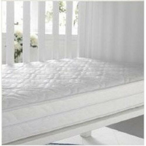 Solid Love Heart IMOGEN White Baby Cot Bed Drawer Optional Mattress 140x70x10