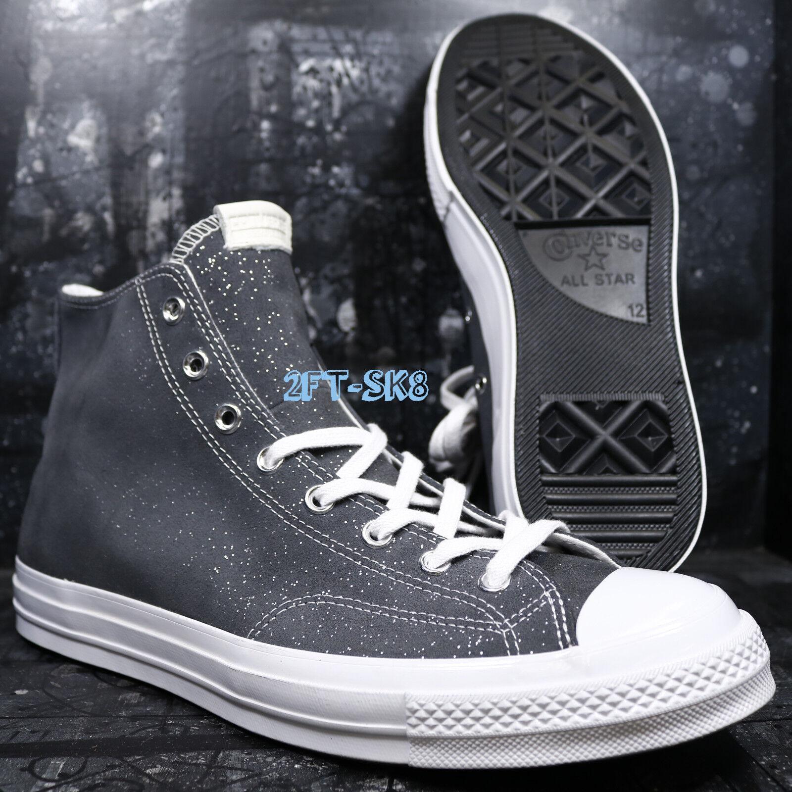 827987853f40 Converse CTAs CTAs CTAs Hi Blank Canvas Sparkle Suede high top SHOES SIZE  12 B88988.267 3f127d