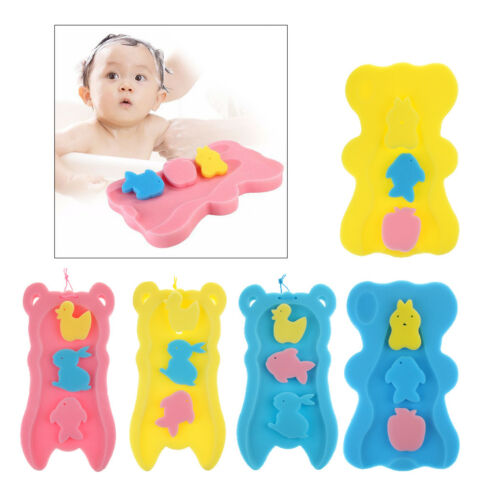 Bathtub Safety Sponge Mat Bath Support For Infant /& Baby Up To 5kg /& 50cm Tall