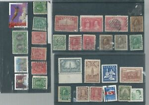 CANADA-MM-amp-USED-STAMP-COLLECTION
