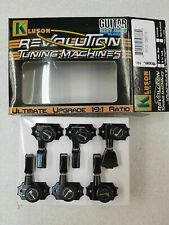 KLUSON REVOLUTION G MOUNT 3x3 LOCKING NO COLLAR TUNERS CHROME KEDPNCL3-C