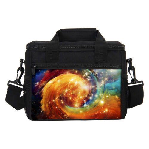 Insulated Lunch Récipient Sac Galaxy Imprimer Cosmos Picnic École Travail Cooler Box