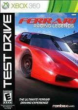 Test Drive Ferrari Legends - Microsoft XBOX 360 New