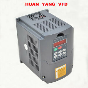 220V 5,5KW 7,6HP Frequenzumrichter Variable Frequency Drive 25A Inverter VFD