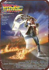 Back to the Future 1985 movie vintage reproduction metal tin sign 8 x 12