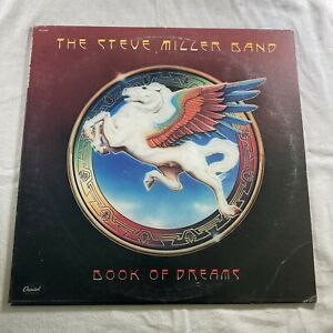 1977 The Steve Miller Band, Book of Dreams, Vinyl Record, SO 11630
