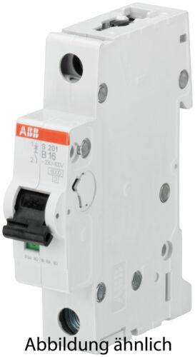 ABB Sicherungsautomat 6kA  1p S201 B6A B10A B20A B25A B13A B16A B32A B40A B50A