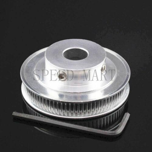 GT2 80T Timing Pulley 12mm Bore 7mm Width for RepRap Prusa Mendel 3D Printer
