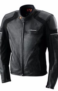new ktm speed jacket leather street jacket size xxx-lg now $249.99
