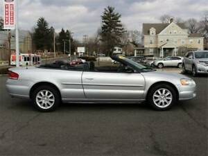 2003 Sebring convertible limited edition