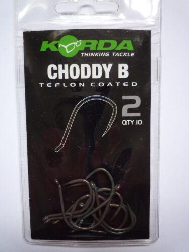KORDA CHODDY B Haken verschiedene Größen Inhalt 10 Stück  0,60€//Stück