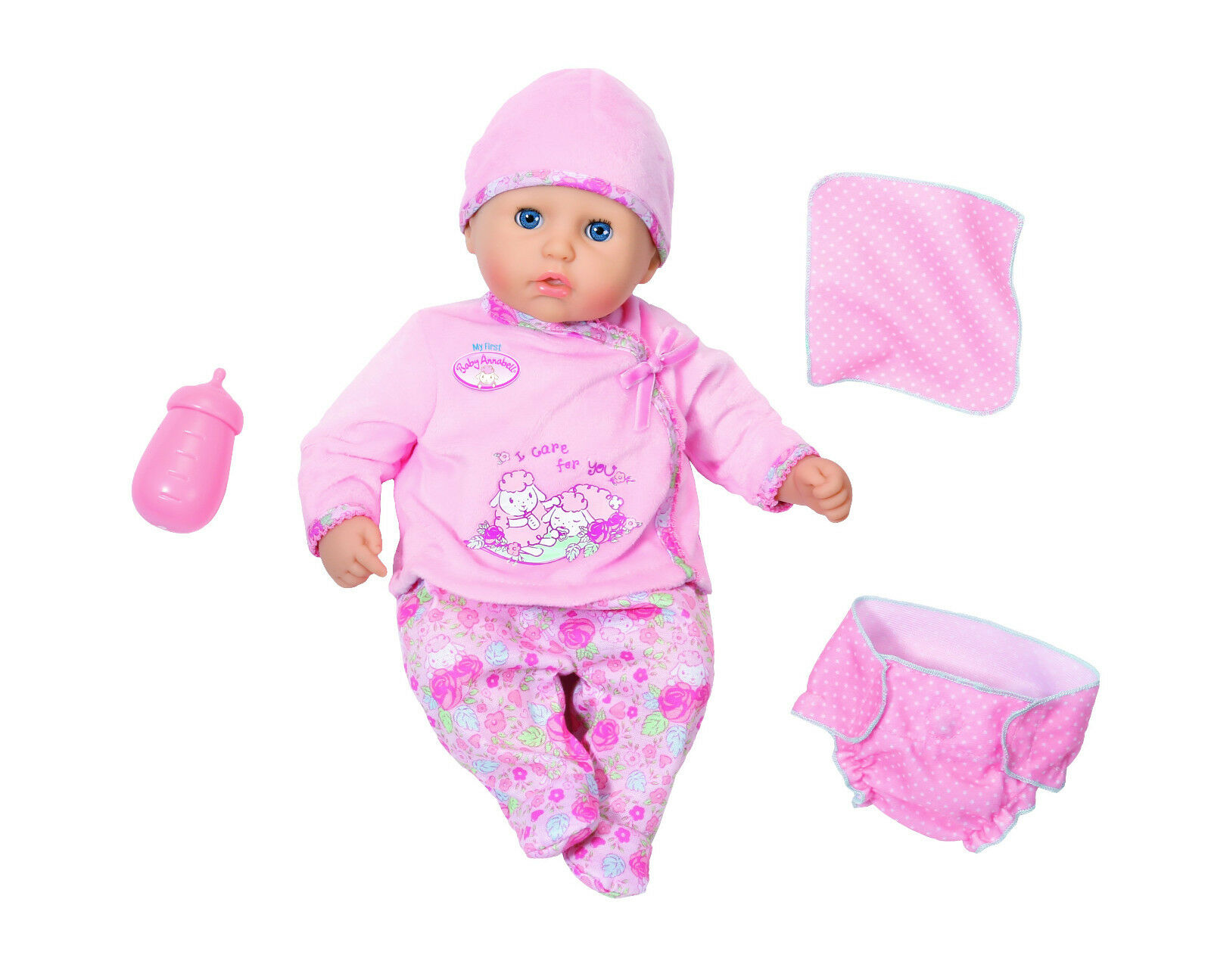 Zapf Creation my first Annabell 794326 I Care for you Spielzeug by Brand Toys