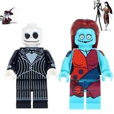 item 3 nightmare before christmas jack and sally mini figure fits lego movie gift nightmare before christmas jack and sally mini figure fits lego