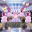 Balloon-stand-Column-Display-Decor-Weddings-Baby-Shower-Ships-From-USA thumbnail 2