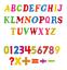 Magnetisch-Buchstaben-Zahlen-Alphabet-Kuehlschrank-Magnete-Kinder-Learning-Toy Indexbild 3
