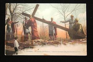 LOURDES-LE-CALVAIRE-Vme-STATION-SIMON-LE-CYRENEEN-AIDE-JESUS-A-PORTER-SA-CROIX