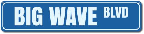 Big Wave Blvd Sign Custom Beach Street Sign ENSA1002199 Ocean Lover Gift