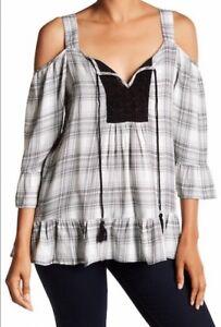 ae0dbd698a6 DR2 Daniel Rainn Women s Plus Size 3X Crochet Bib Cold Shoulder ...