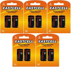 10-x-CR2-Lithium-Batterie-5-Blistercards-a-2-Batterien-EASTCELL