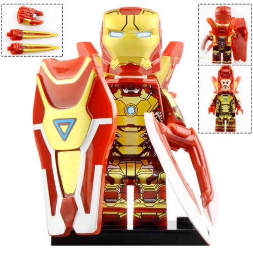 Ironman MK27 MK30 MK31 MK36 MK21 MK42 MK50 Pepper Lego Moc Minifigures Toys