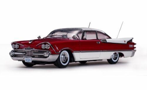 1959 Dodge Personnalisé Royale Lancer Dur dessus Ruby Perle 1 18 Platine Par