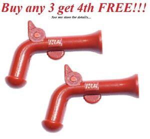 Weapon Gun Pirate Flintlock Pistol NEW LEGO x 50 Reddish Brown Minifig