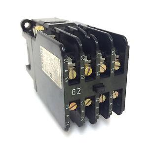 Control de relé Siemens 3TH4355-0AF0 5NO//5NC 110VAC 4 kW 3TH43550AF0