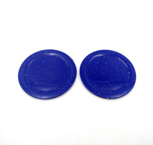 """Placa De Comida Azul 2pcs Pratos Crianças Brinquedos ajuste para 18/"""" Acessório Para Boneca American Girl"""
