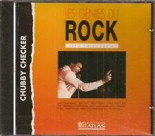 MUSIQUE CD LES GENIES DU ROCK EDITIONS ATLAS - CHUBBY CHECKER LET'S TWIST AGAIN