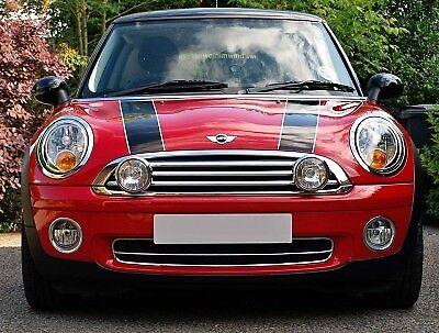 full kit BMW Mini ONE D 01-06 Brushed Stainless Steel Spot Lights like Chrome