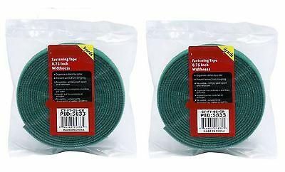 """New Red 3//4/"""" X 5 yard HOOK and LOOP FASTENING TAPE ROLL"""