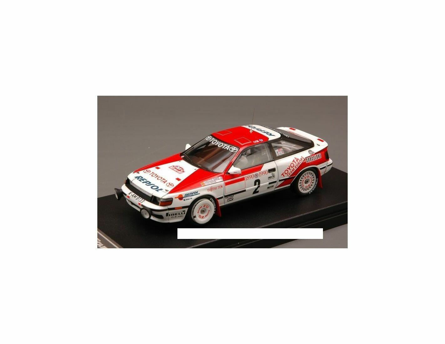 Hpi Racing HPI8572 TOYOTA CELICA GT-FOUR N.2 2nd MONTE CARLO 1990 SAINZ-MOYA 1:4