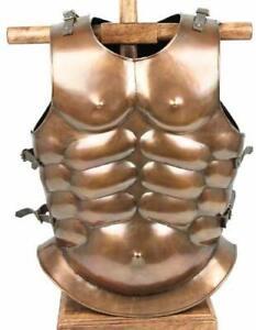 ANTIQUE  MEDIEVAL ROMAN GREEK MUSCLE JACKET  ARMOR MUSCLE COSTUME JACKET
