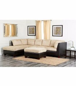 Remarkable Details About Abbyson Living Sectional Sofa Alphanode Cool Chair Designs And Ideas Alphanodeonline