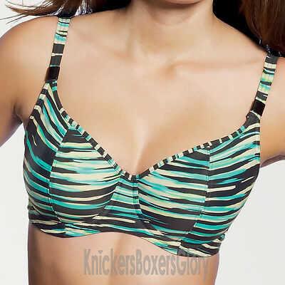 Freya Swimwear Illusion Sweetheart Padded Bikini Top Black NEW 3128 Select Size