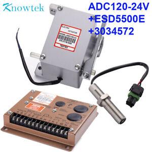 Speed controller ESD5500E 24V Actuator ADC225-24V//ADC225-24 Pickup 3034572