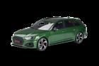 GT Spirit Audi RS4 Avant 2020 1:18 - Sonoma Green (GT296)