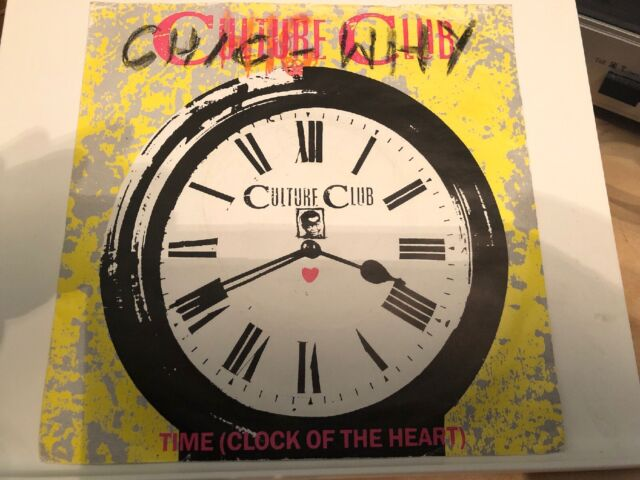 "Culture Club - Time (Clock Of The Heart) 7"" Vinyl Single Record P/S"