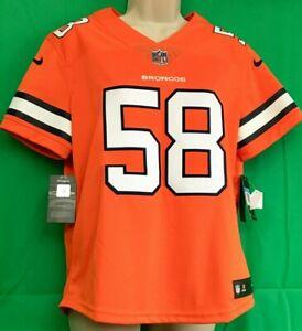 best service 5b5e1 c018e Details about J.42 NFL Denver Broncos Nike Color / Colour Rush Von Miller  Jersey LADIES M NWT