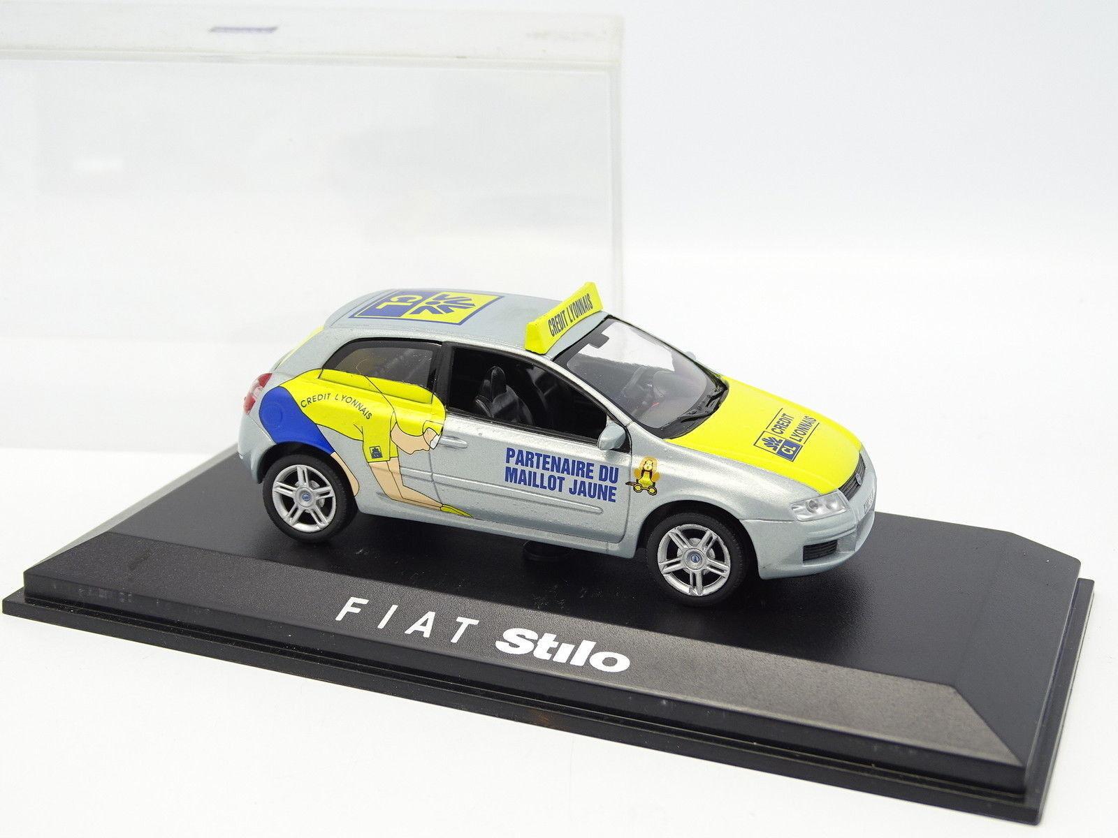 Norev 1 43 - Fiat Stilo Tour de France 2002 Credit Lyonnais