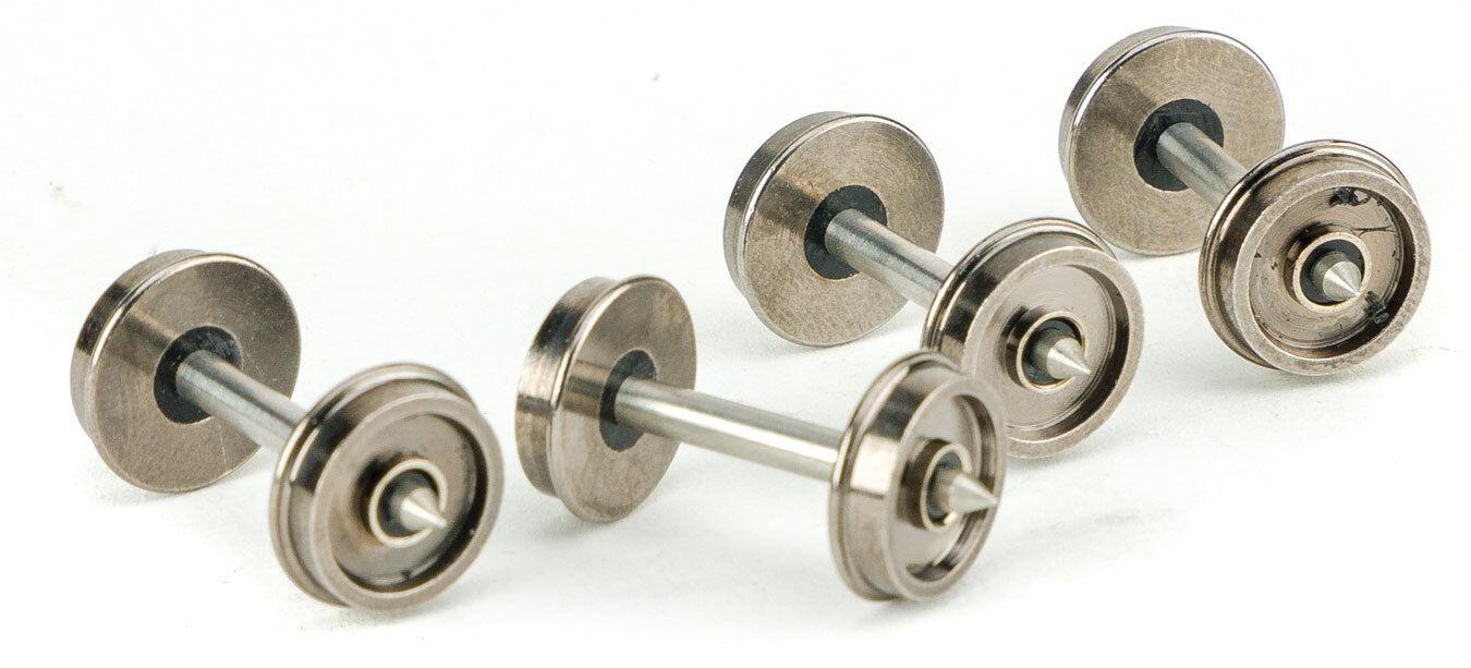 Pista h0-juegos de ruedas 36  de metal 100 unidades -- 2305 nuevo