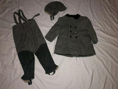 Vintage Boys Fieldston Man Tailored Wool Suit Coat